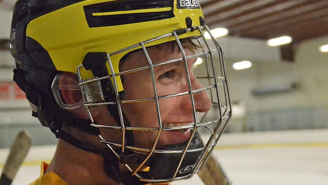 Josh Albring of Hartland made the Division 2 All-State hockey team last season.