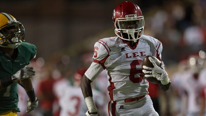 Henry Ruggs III scored 20 times on 102 touches in his senior year at Robert E. Lee.