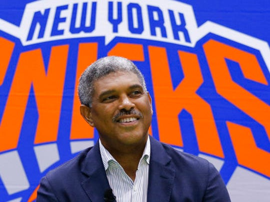 New York Knicks general manager Steve Mills answer