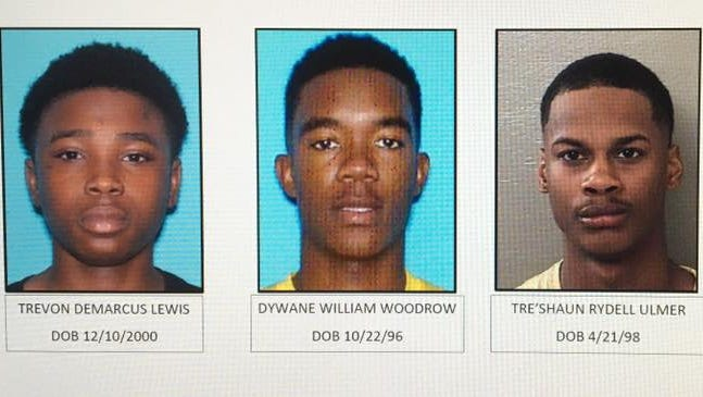 The suspects arrested in connection to a shooting murder on Rawson Lane