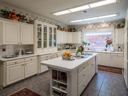 The spacious kitchen at 306 Glen Erica St. was recently