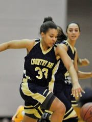 Detroit Country Day's Destiny Pitts (33)