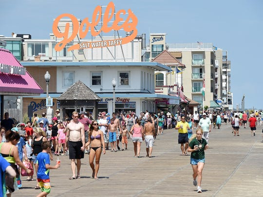 Beaches were crowded over the Labor Day weekend as vacationers in Rehoboth Beach got in their last days of sun.