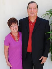 Event chairs Shirley Mims and Larry Dreier