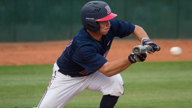 The 14th-ranked Dixie State Trailblazers broke the program's single-season record for victories in a season (37) with a 9-2 victory over Concordia Saturday.