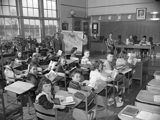 A 1951 classroom