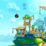 A scene from 'Angry Birds 2.'