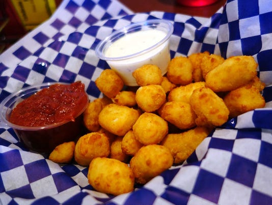 Fried cheese curds at Casey Jones Grill