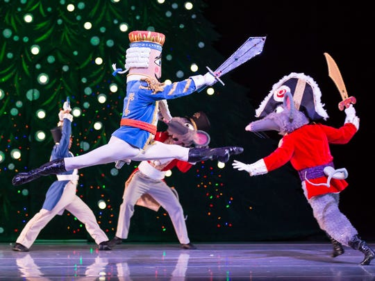 Dec. 2 NASHVILLE'S NUTCRACKER:  Through Dec. 23. TPAC's