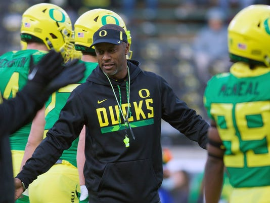 NCAA Football: Arizona at Oregon