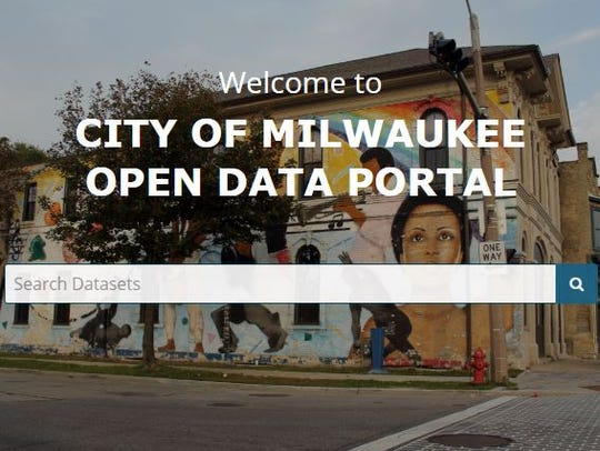 The City of Milwaukee's data portal went live on May