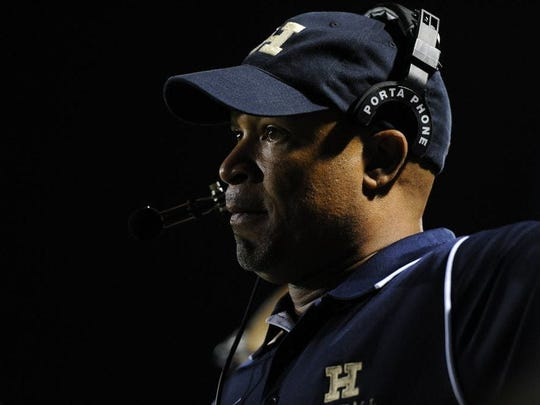 Assemblyman Benjie Wimberly, who is also the head football coach at Hackensack High School, has introduced legislation to provide employment stability for public school coaches. (Photo: RECORD FILE PHOTO)