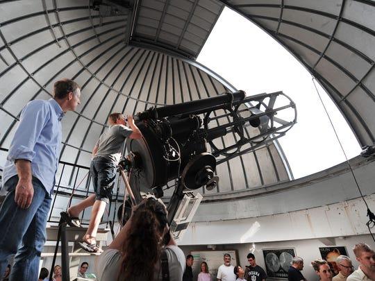 Butler University's Holcomb Observatory, built in 1954.