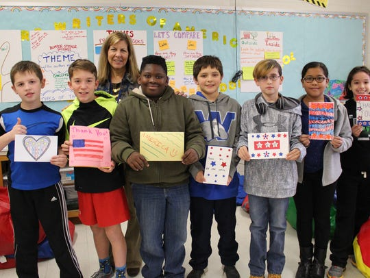 Sixth graders at Warren Middle School are among more