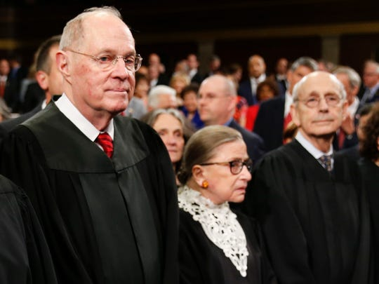 Supreme Court Justices Anthony Kennedy, Ruth Bader