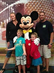 The Kings at Disney World.