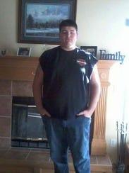Jacob Havener, a freshman wrestler at Bondurant-Farrar
