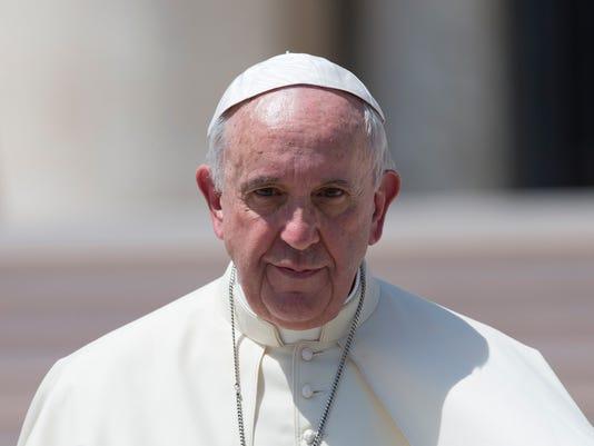 AP VATICAN POPE I VAT