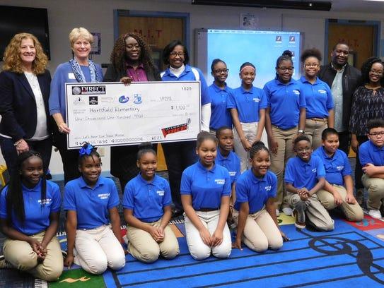 Hartsfield Elementary School wins the Let's Hear Your