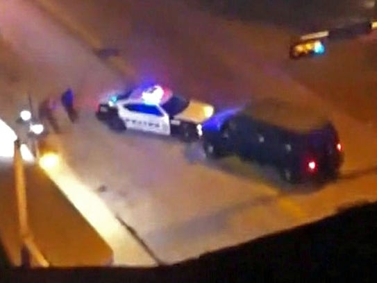 A YouTube clip shows the van used in the Dallas police