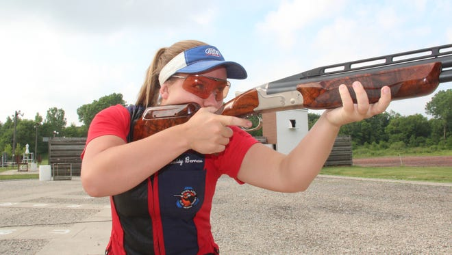 Madelynn Bernau, 20, of Waterford is a member of the USA Shooting team and will compete in trapshooting at the 2018 ISSF World Championships in Changwon, Korea.