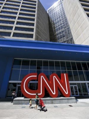 CNN headquarters, Atlanta, Aug. 26, 2014