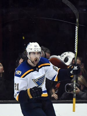 St. Louis Blues center Patrik Berglund is expected to be out until December following shoulder surgery.