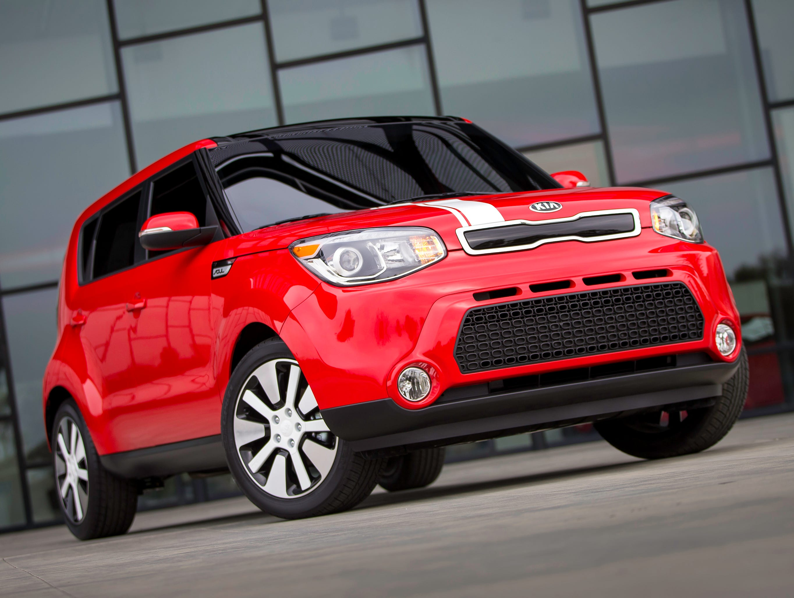 This year's Edmunds.com Top 10 Best Cars for Short Drivers includes the boxy Kia Soul starting at $15,200 (updated 2014 model shown here).