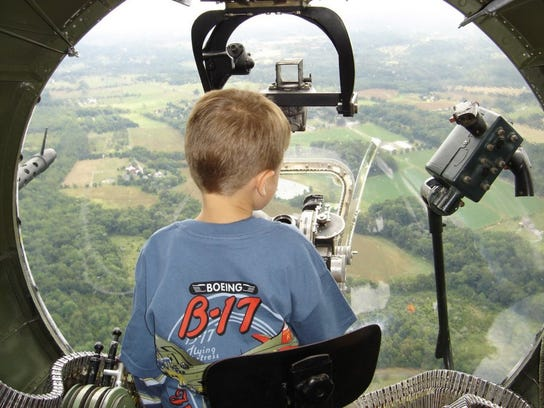 The Wings of Freedom Tour of the World War II aircraft is this weekend at Witham Field in Stuart.