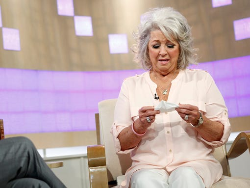 Celebrity chef Paula Deen appears on NBC's 'Today'