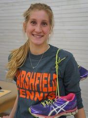 Marshfield senior Martha Kupfer is a three-sport athlete