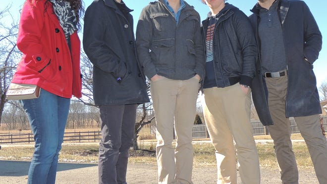 """The Upper Room Project, a Chillicothe-based teen Christian Band, will host a concert, youth rally and release party for their new EP, """"Keep Moving On,"""" beginning at 6:30 p.m. Saturday at Tabernacle Baptist Church."""