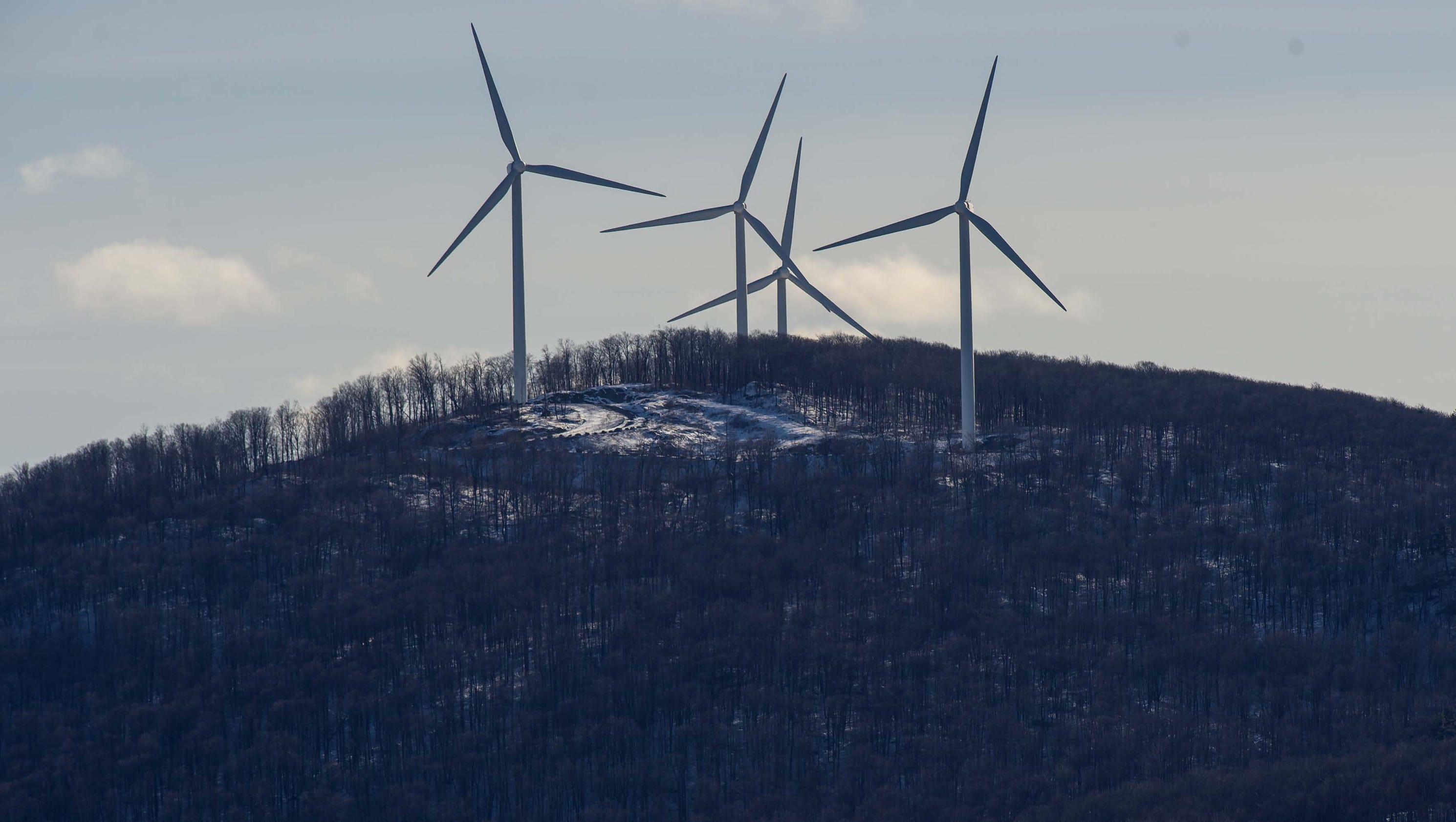 wind power stirs swanton u0027s backyard