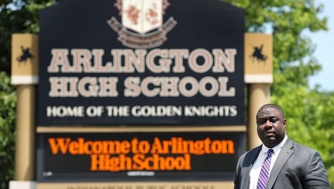 Marcus Robinson, the chancellor and CEO of Tindley Accelerated Schools, says the tough disciplinary approach taken by educators at Arlington High School is necessary to help students learn.