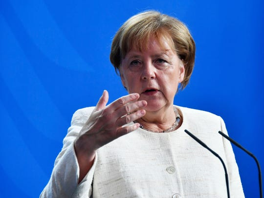 German Chancellor Angela Merkel dismissed the idea