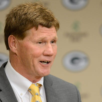 Green Bay Packers President and CEO Mark Murphy speaks