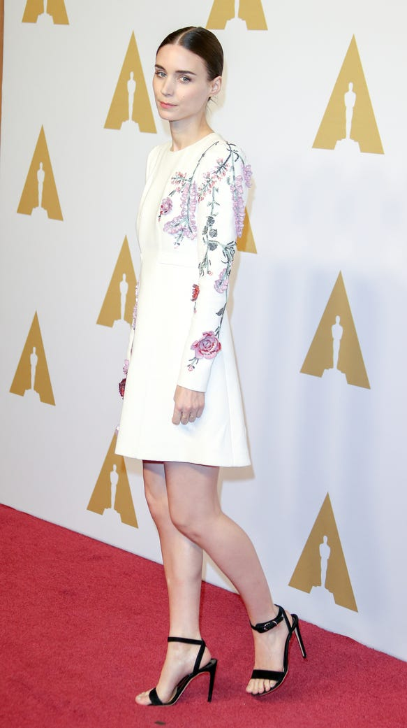 Rooney Mara arrives at the 88th Oscars Nominees Luncheon