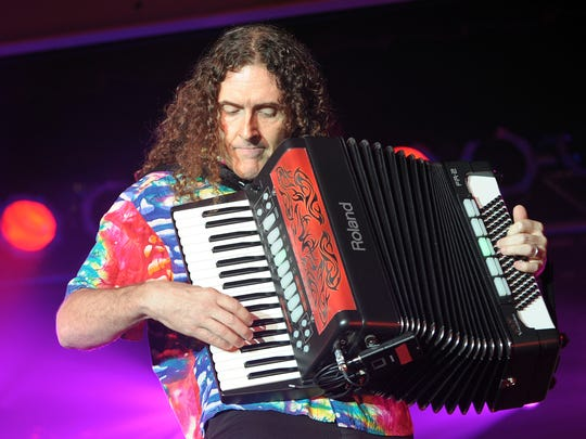 """Weird Al"" Yankovic performs a sold out show  at the Rehoboth Beach Convention Center in Rehoboth Beach."