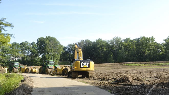 Developers have broken ground on Crooked Tree Preserve, a 168-acre housing development in Mason.