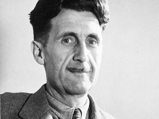 "George Orwell is the author of ""1984."""