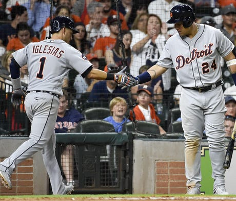 The Tigers happily accepted a dash of timely hitti...