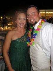 Laura and Eric Mayeaux at the Atahoe Plantation wedding