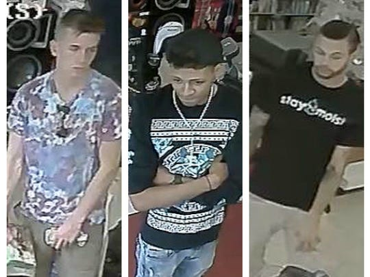 Police are asking for the public's help in identifying three people of interest pertaining to a North Annville Township burglary in June.