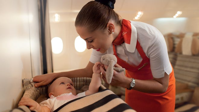 Etihad Airways is introducing the Flying Nanny to take care of kids on board planes.