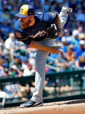 The Brewers want to build their pitching staff by developing players such as Brandon Woodruff, who has ascended into the starting rotation, and prospects such as Corbin Burnes, Freddy Peralta, Adrian Houser and Luis Ortiz.