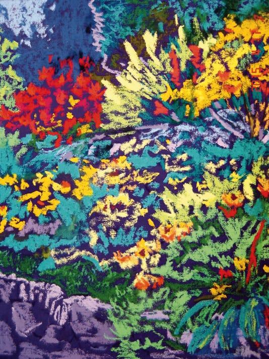 """Springtime"" by Corinne Abeyta-Spinnler."