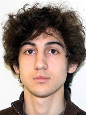 FILE - This undated file photo released Friday, April 19, 2013, by the FBI shows Dzhokhar Tsarnaev. Russian relatives of Boston Marathon bomberTsarnaev are expected to testify at his trial as his lawyers continue to make their case to spare his life.  Five family members are expected to take the witness stand Monday, May 4, 2015, in federal court.  (AP Photo/FBI, File)