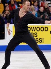 Former figure skater John Coughlin