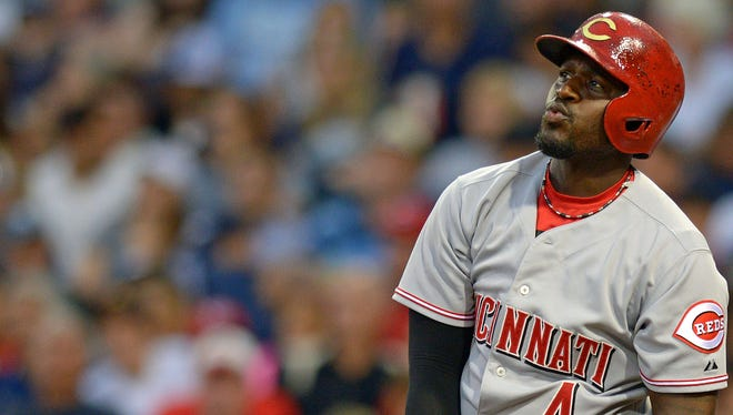 Brandon Phillips missed five weeks with a torn thumb ligament this season.