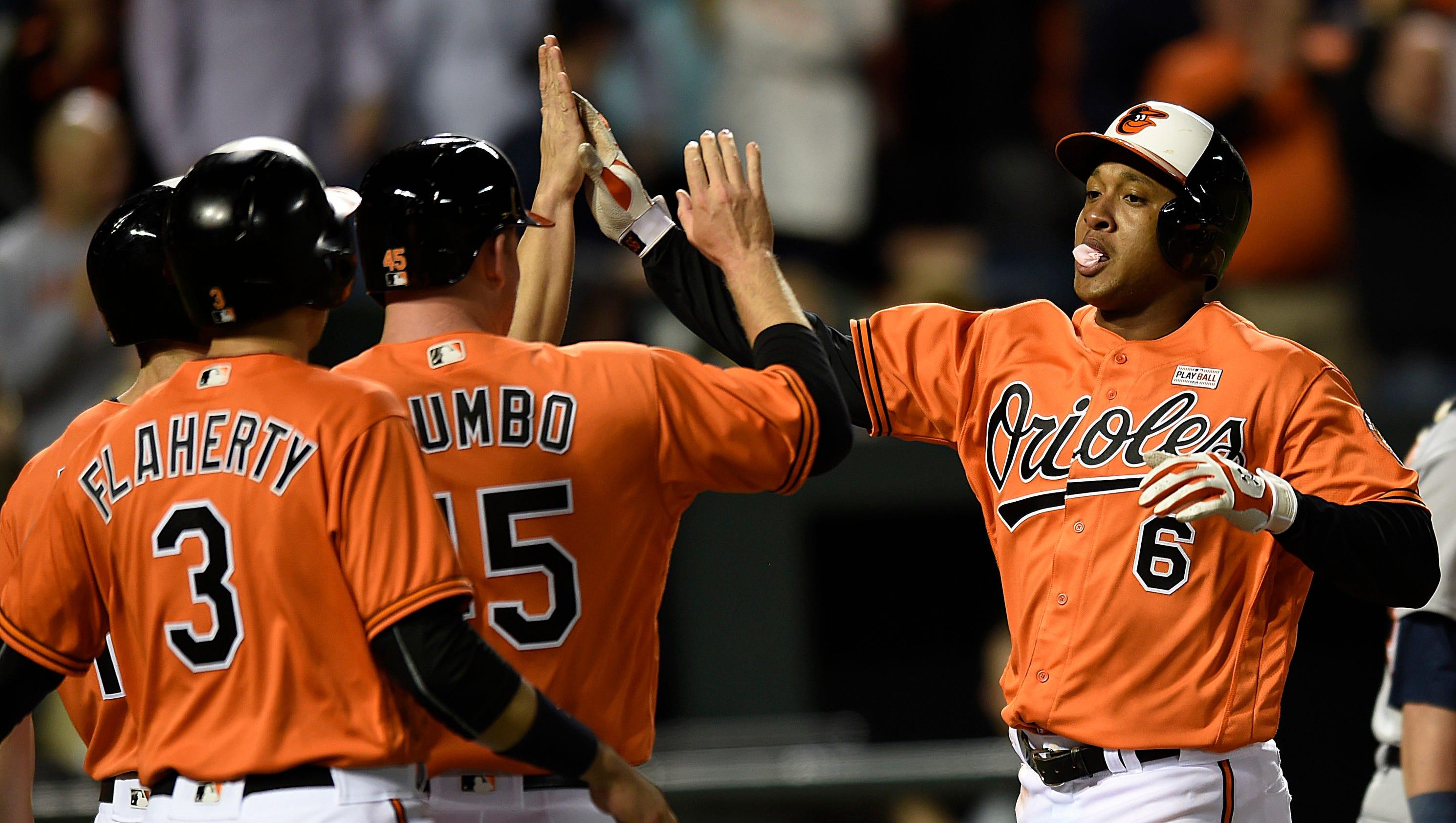 Orioles 9, Tigers 3